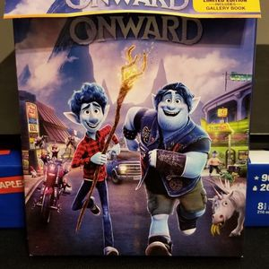 Brand New Disney Pixar Onward 4k Ultra HD, Blu Ray, And Storybook for Sale in Mount Prospect, IL