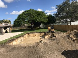 Pool excavation for Sale in Miami, FL
