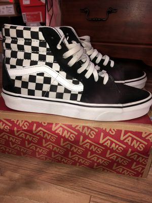 HighTop Checkered Vans for Sale in St. Louis, MO