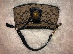 Coach Black Leather Hobo Bag for Sale in Trenton, NJ
