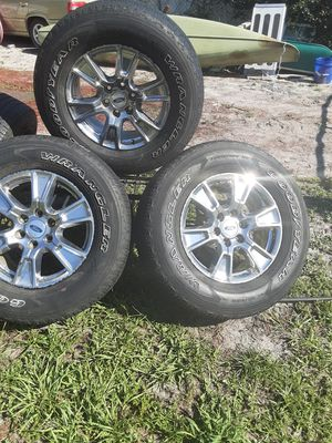 Ford rims and tires six lug for Sale in Mount Dora, FL