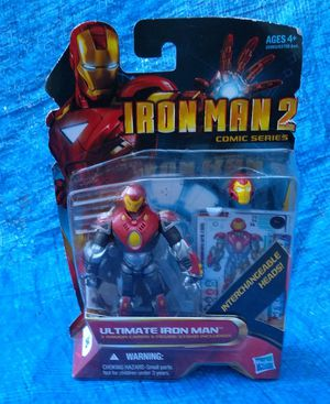 Hasbro Iron Man 2 Ultimate Iron Man Action Figure MOC MIP 2010 Collectible Marvel for Sale in Pasadena, CA
