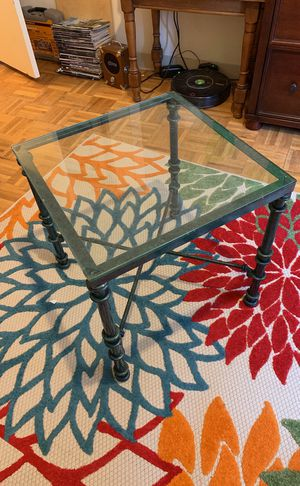 Glass table for Sale in Cambridge, MA