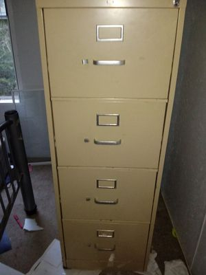4 drawer file cabinet metal for Sale in Martin, GA