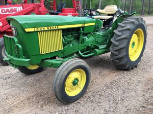 John deer diesel tractor 32 hp with new brushhog mower for Sale in Hockley, TX