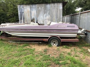 1987 Galaxie Deck Boat for Sale in Fort Worth, TX