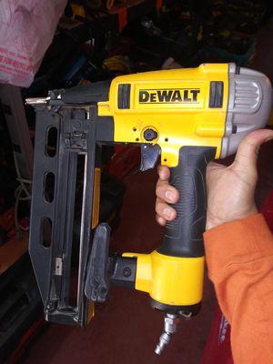 16ga dewalt nail gun for Sale in Dallas, TX
