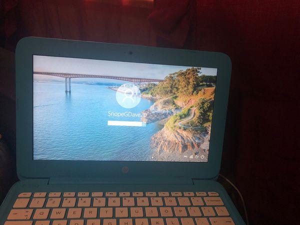 "HP stream notebook 11.6"" HD display ,Microsoft office 365"