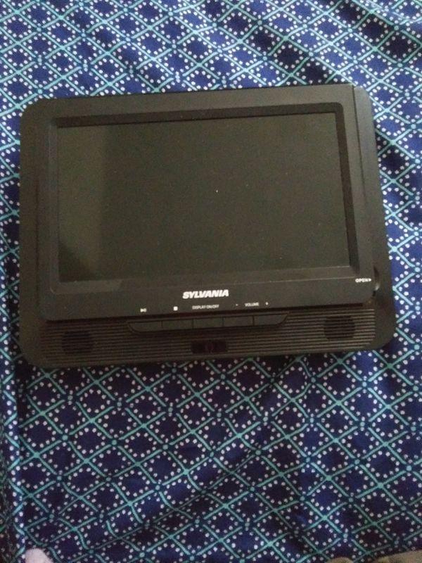 2 Sylvania portable dvd players