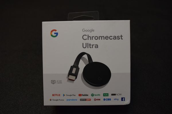 Google ChromeCast 4k Ultra