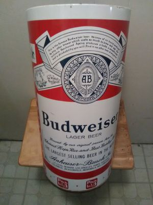 Vintage Budweiser Trash Bin for Sale in Swanville, ME