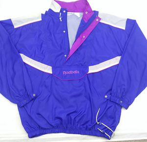 Reebok windbreaker 90s for Sale in Streamwood, IL