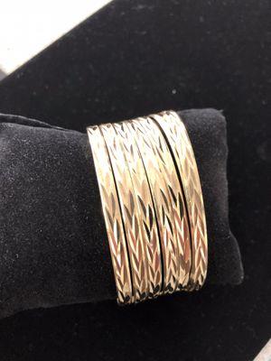14K semanario 7 -day bracelet set Pawn Shop Casa de Empeño for Sale in Vista, CA