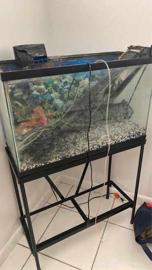 Fish / reptile 30 gallon tank for Sale in Orlando, FL