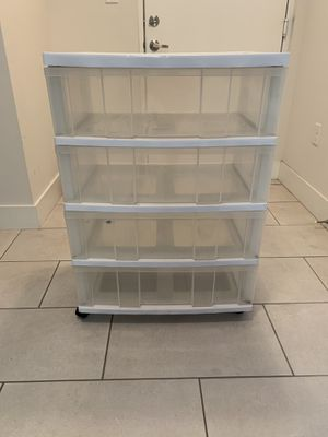 Storage Containers with Drawers for Sale in Homestead, FL