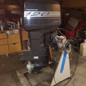 Force Mercury 120 HP Outboard Motor for Sale in San Diego, CA
