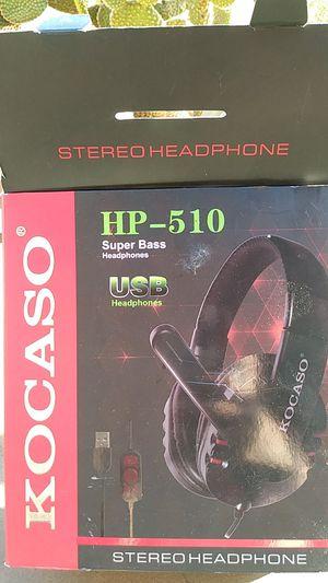 Kocaso Hp-510 Super bass Headphones for Sale in San Diego, CA