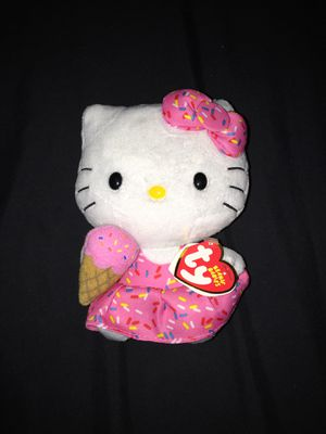 Hello kitty with ice cream plushie for Sale in Hanover, PA