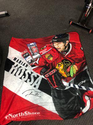 Blackhawks lit fleece 6 pack cooler 2- flags for Sale in Schaumburg, IL