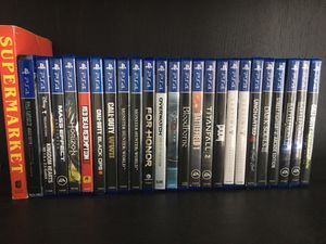 •Excellent Collection of PS4 Games• for Sale in Round Rock, TX