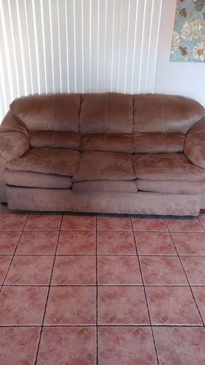 Microfiber 3 seat Sofa for Sale in Scottsdale, AZ