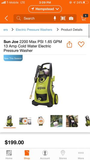 Pressure washer for Sale in New York, NY