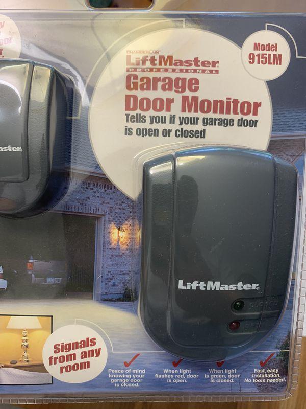 Lift Master garage door monitor