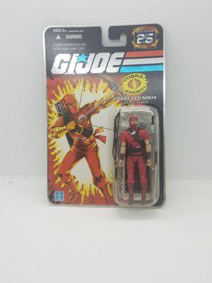 GI Joe 25th Anniversary Cobra Red Ninja Hasbro 2007 Action Figure MOC for Sale in Discovery Bay, CA