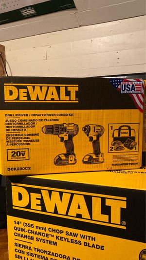 DEWALT COMBO PACK for Sale in Tacoma, WA