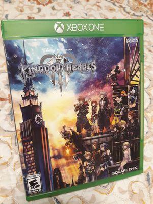 Kingdom hearts III Xbox One game for Sale in Alvarado, TX