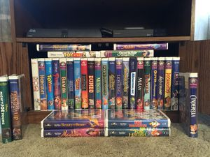 Disney Collection VHS with four Black Diamonds for Sale in Troutdale, OR