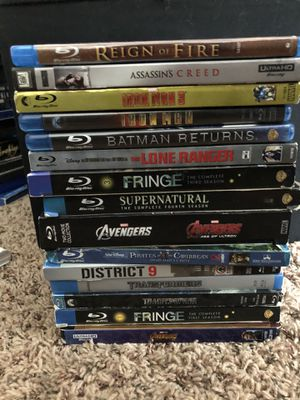 Blu Ray Lot for Sale in Chippewa Falls, WI