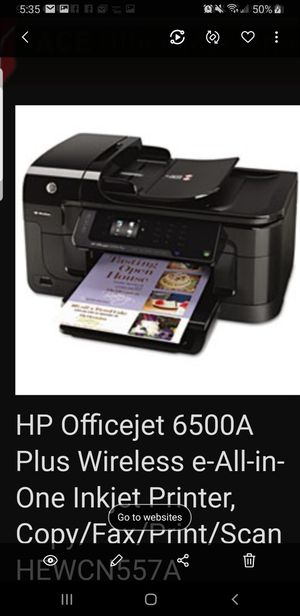 All in one ink printer great condition for Sale in Aliso Viejo, CA
