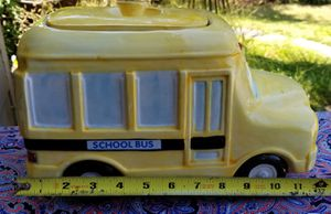 Large School Bus Cookie Jar for Sale in Vancouver, WA