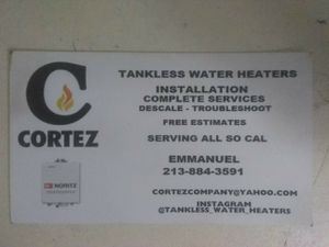 Water heaters tankless water heaters for Sale in Burbank, CA