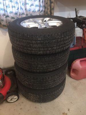 """18"""" wheels & tires off 2019 Traverse for Sale in La Crosse, WI"""
