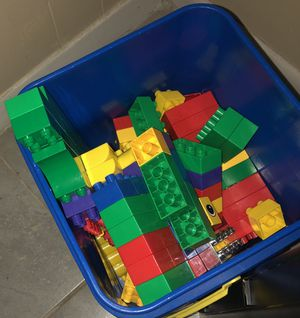 Box of legos $6 great deal !! for Sale in Houston, TX