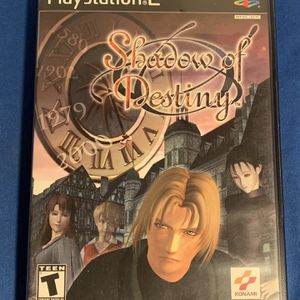 Shadow of Destiny Sony PlayStation 2 PS2 Authentic Original. Complete with case and manual. for Sale in Fort Lauderdale, FL