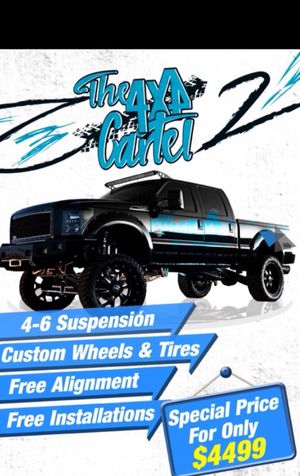 Special price for wheels/tires/suspension for Sale in Miami, FL