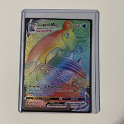 Sword And Shield Rainbow Rare Lapras Mint ! for Sale in Anaheim,  CA