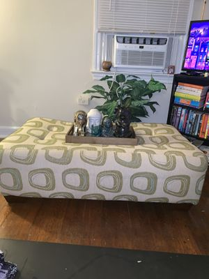 Green Ottoman for Sale in Takoma Park, MD