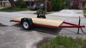 Flat utility trailer for Sale in Pembroke Pines, FL