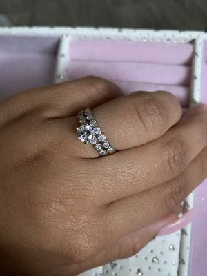 Beautiful S925 Silver Ring set for Sale in High Point, NC
