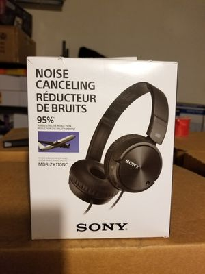 Sony - noise canceling on-ear wired headphones ( mdrzx110nc) for Sale in Compton, CA