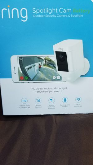 Ring Spotlight WIRELESS for Sale in Hillcrest Heights, MD