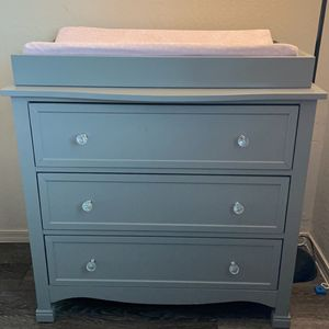 Grey Dresser Changing table for Sale in Chandler, AZ