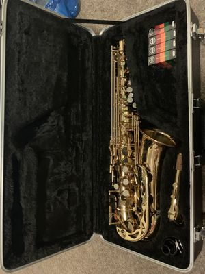 "Alto Saxophone ""Antigua"" (Reeds included) for Sale in Woodburn, OR"