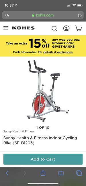 CHAIN DRIVE INDOOR CYCLING TRAINER EXERCISE BIKE New for Sale in Las Vegas, NV