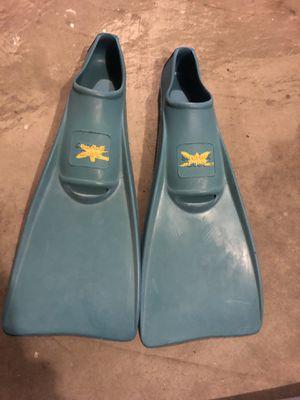 Child's swim fins for Sale in Wenatchee, WA