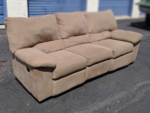 Dual reclining sofa Delivery available for Sale in Mesa, AZ
